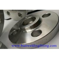 Buy cheap 4'' S40 F304H 300LB Forged Steel Socket Welding Flanges ASME B16.5 from wholesalers