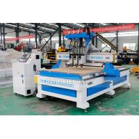 Quality 1325 Three Processes Multi Head CNC Router Machinery with HQD Air Cooling Spindle wholesale