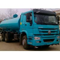 Quality Potable Water Tanker Trucks 19CBM For Road Flushing , Water Hauling Trucks wholesale