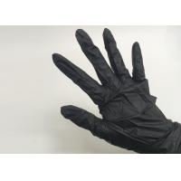 China Disposable Nitrile Gloves Black  Tattoo Accessories S M L Size on sale