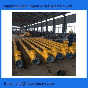 Quality Cement silo 168mm cement screw conveyor for concrete batching plant wholesale
