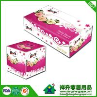 Quality box facial tissue wood pulp white   180x200mm 2ply 100sheets/box 36boxes/cartons wholesale