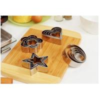 Quality Non Toxic Stainless Steel Cake Mold Cookie Cutter Mousse Ring For Baking Tools wholesale