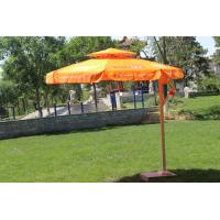 Quality Double Layer Roma Offset Umbrella , Large Round Patio Umbrellas Parasols wholesale