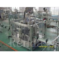 Quality 750ml 2000 BPH Beer Filling Machine , CE Beer Canning Equipment SUS304 380V wholesale