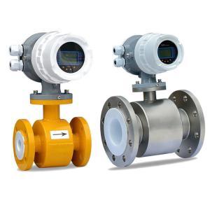 Quality Large Dn Magnetic Flowmeter Electromagnetic Flow Meter For Lime Milk wholesale