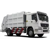 Quality International Back Loader Garbage Truck / Compactor Garbage Collection Vehicles wholesale