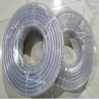 China Clear Nylon Braided Reinforced PVC Hose with Beautiful Lines for Conveying Water in Farm, Garden and Factories on sale