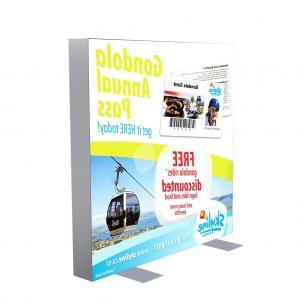 Cheap Advertising fabric led backlit picture frame/SEG led light box for sale