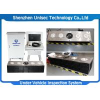 Quality IP68 Fixable Under Vehicle Search System Used In Hotel , Load Bearing Weight 50 Tones wholesale