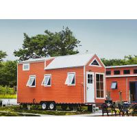 Quality Lightweight Cold Rolled Steel Tiny Prefab Homes On Wheels wholesale