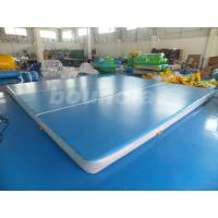 Quality Good Airtightness Inflatable Air Tumble Track / Inflatable Gym Mats wholesale