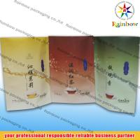 China Bottom Gusset Tea Bags Packaging Printed With Logo For Loose Leaf Tea on sale