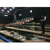 Quality 180 Degree Curved Screen 5D Theater System Counting System 9 Seats wholesale