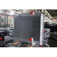 Quality Customized aluminum bar plate fin heat exchanger combi oil cooler with air after cooler wholesale