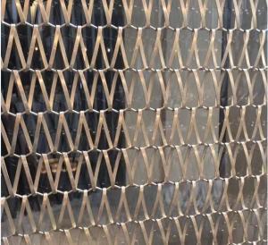 Quality SS Sus 304 Grade Spiral Wire Mesh Conveyor Belt Decorative Wire Mesh wholesale