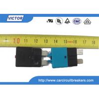 Quality Car Fuse Auto Reset Circuit Breaker , DC 30A 28V Resettable Circuit Breakers wholesale