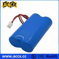 Quality 7.2V lithium battery pack with connector in series wholesale