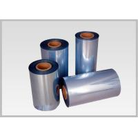 China 45mic PVC Bands Heat Shrink Film Rolls For Shrinkable Bottle Sleeves on sale