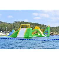 Cheap Giant Inflatable Aqua Park Sports Equipment / Inflatable Water Park Games For for sale