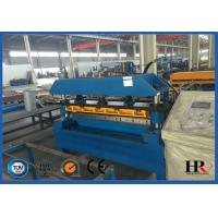 Quality Pre-cutting Sheet Metal Cold Roll Forming Machine With Gear / Sprocket Driving wholesale