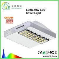 Quality Osram Meanwell Driver LED Street Light Lamp 160 LM / W Outdoor Street Lighting wholesale
