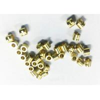 China Connector Tube CNC Machining Brass Parts , Small Cnc Machined Components on sale