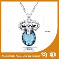 Quality Zinc Alloy Stainless Steel Chain Necklace With Sheep Pendant wholesale
