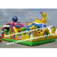 China 0.55mm PVC Tarpaulin Kids Inflatable Obstacle Climbing,Bouncing,Sliding and Jumping Amusement Park on sale