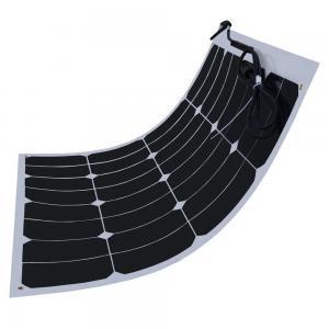 Quality 60W Flexible Solar Panels For Motorhomes , Sunpower Solar Cells Virtually Unbreakable wholesale