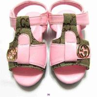 Cheap Sell designer baby's fashion G-ucci cha-nel soft non-slip sandals summer toddler for sale