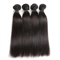 Quality Double Machine Weft Virgin Human Hair Bundles Long Straight Hair Extensions For Thin Hair wholesale