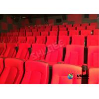 Quality Frequency Vibration Effect Red Movie Theater Seats / Chairs Easy Installation wholesale