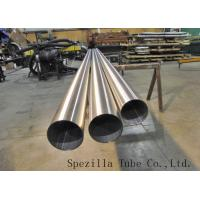 "Quality ASTM A270 TP316L S.S Welded Sanitary Pipe Polished 1 1/2""x0.065""x20ft for high purity wholesale"
