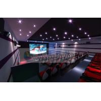 Quality Luxurious Decoration 7D Movie Theater With Large Silver Screen And Movable Seats wholesale