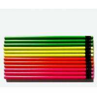 Quality Standard students HB wooden pencil color spray paint wholesale