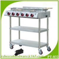 Quality Portable stainless steel gas barbecue grill wholesale