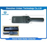 Quality High Precision Hand Held Metal Detector 7.4V Lithium Battery 200g Weight wholesale