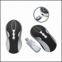 Quality Rechargeable 10-button RF Optical Mouse with 800cpi Resolution wholesale