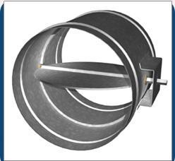 China Volume Control Damper/VCD/ air damper on sale