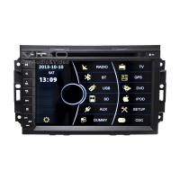 China Car Stereo Sat Nav For Chrysler / Jeep / Dodge With Bluetooth on sale