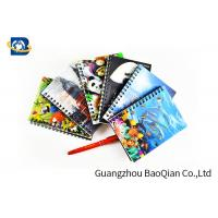 Quality A4 A5 A6 3D Lenticular Notebook Eco - Friendly Material For Student Stationery wholesale