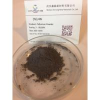 Quality Non-Ferrous Metals Tellurium Metal Powder 200 Mesh for Thermal Analysis Cups Manufacturer wholesale