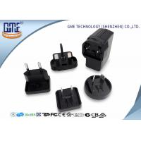 Quality Black EU US UK AU Plug 5V 2A USB Universal Travel Adapter for Visual Products wholesale