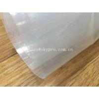 Quality Transparent Sticky Silicone Rubber Sheet Rolls Medical Grade Customized wholesale