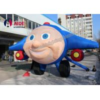 Quality 2 M Advertising Inflatable Husky , Inflatable Train Eco Friendly Oxford Cloth wholesale