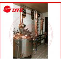 Quality Stainless Steel Moonshine Still  Kits With Dephlegmator 3mm Thickness wholesale