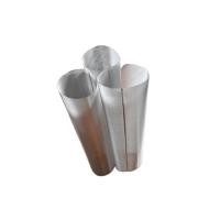 China 50um 304 316 Stainless Steel Mesh Cylinder Annealed And Pickled Finish for sale