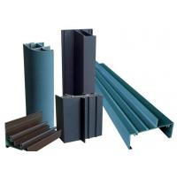 Quality Grey E Shaped Aluminum Extrusion Profiles High Weather Resistance For Interior Decoration wholesale
