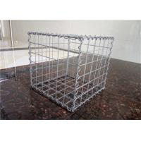 China Gabion Gravity Wire Cages Rock Retaining Walls Square / Rectangular Hole Shape on sale